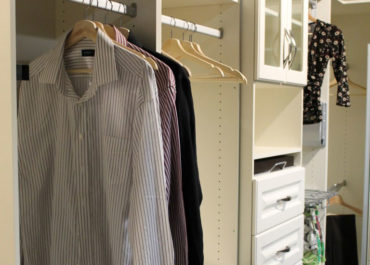 Do you need to have a lot of stuff to have a walk-in closet?